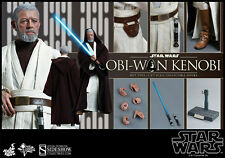 Hot Toys Star Wars Obi-Wan Kenobi Episode IV New Hope 1/6 Scale Figure New Jedi