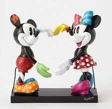 Disney by Britto Mickey & Minnie Mouse Figurine NEW in Gift box - 27309