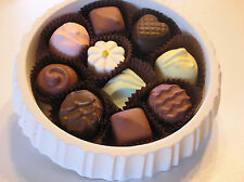 Fake Food/Artificial/Asst.Chocolates in Round Box Photo Shoot/Home/Candy Prop