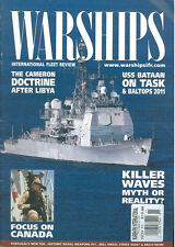 WARSHIPS NOV 2011 HMAS FARNCOMB INCIDENT_CANADIAN NAVY_RN LIBYA_USS NEW YORK_HMS