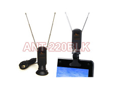 Mini Digital TV Antenna with Detachable Suction/Clip Mount For TV Tuner DTV Box
