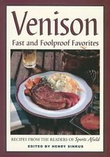 VENISON RECIPES from Sports Afield Cookbook Cook Book Hunting Deer Elk Wild Game