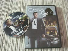 DVD PELICULA CASINO ROYALE 007 JAMES BOND 007 DANIEL CRAIG USADO BUEN ESTADO