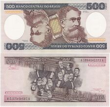 Brazil 500 Cruzeiros 1981 P200a NEUF UNC Uncirculated Banknote