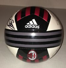 2015-16 AC MILAN Team Signed Soccer Ball Futbol Premier League COA!
