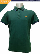 POLO UOMO MADE IN ITALY - FRED PERRY - TG. 40 - MAN'S T-SHIRT #175