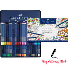 60 Aquarelle Grip Faber Castell Artist Watercolour Pencil NEW Tin Christmas Set
