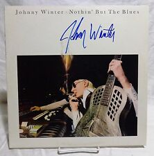Johnny Winter Signed Autographed Album A