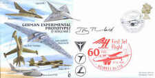 CC69b WWII WW2 German Experimental Jet flown cover signed artist