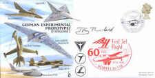 CC69b WWII WW2 German Experimental Jet flown cover signed artist