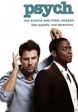 BRAND NEW Psych: The Eighth and Final Season New DVD!