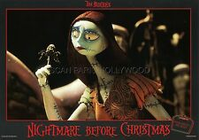 TIM BURTON THE  NIGHTMARE BEFORE CHRISTMAS 1993 VINTAGE LOBBY CARD #5