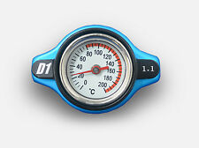 D1Spec Thermost Radiator Cap+Temp gauge 1.1 Bar Cover Small/Large Head