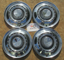 "1959 CHRYSLER WINDSOR, SARATOGA 14"" WHEEL COVERS, HUBCAPS, SET OF 4 ~NO RESERVE~"