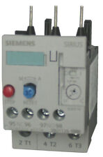 Siemens 3RU1126-1JB0 3 pole overload relay adjustable from 7 - 10 AMPS