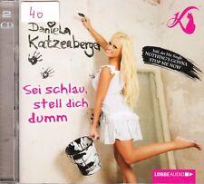 Daniela Katzenberger 2 CD + Sei schlau, stell dich dumm + Bericht aus dem Leben