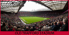 "OLD TRAFFORD STADIUM - 10""x20"" Panoramic Color Photo"