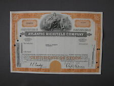Atlantic Richfield Company - Stock Certificate azione Aktie acción share action