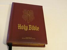 Holy Bible Pope Francis Vatican New American Heirloom Catholic Family Queen Peac