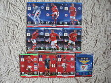 PANINI adrenalyn 2014 CHAMPIONS LEAGUE 2015  benfica  master, one ,rising