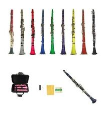 New Merano BB Student Clarinet in Black White Red Pink Blue Purple Green Yellow