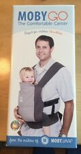 NEW in the Box - Moby Go Baby Carrier Gray Model 5001