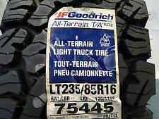 BF Goodrich Tires LT235/85R16, All-Terrain T/A KO2 75445 Brand new DOT 2015