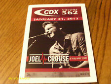 Joel Crouse  Tim McGraw Billy Ray Cyrus Blake Shelton 2013 DJ CD