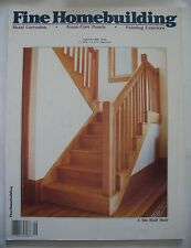 Fine Homebuilding Magazine Issue #62 August / September 1990 A Site-Built Stair