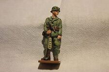 FIGURINE EN PLOMB MACHINE GUNNER AFRIKAKORPS GERMANY 1941