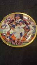 "1990 Sports Impressions NOLAN RYAN ""300 Wins"" Mini Plate New in Box With Stand"
