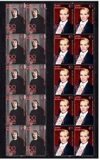 JULIE ANDREWS SET OF 2 CINEMA CENTENARY MINT STAMPS