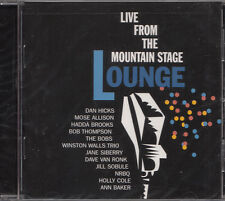 Live from the Mountain Stage Lounge | CD Neuware Dan Hicks Mose Allison The Bobs