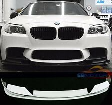 UNPAINTED 3D Style Front Lip Spoiler For BMW F10 5-Series M5 Model 2012UP B201F