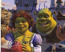 SHREK - CAMERON DIAZ & MIKE MYERS AUTOGRAPH SIGNED PP PHOTO POSTER