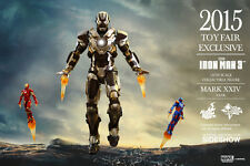 Hot Toys - 1/6 Scale Iron Man Mark 24 XXIV Tank & Iron Man Silver Centurion Set