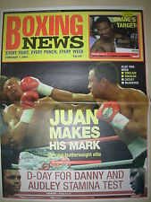 BOXING NEWS 7 FEBRUARY 2003 JUAN MANUEL MARQUEZ DEFEATS MANUEL MEDINA
