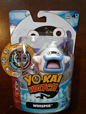 YO-KAI WATCH WHISPER MEDAL MOMENTS COLLECTIBLE FIGURE AND MEDAL NIP