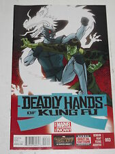 DEADLY HANDS OF KUNG FU #3 MARVEL COMICS
