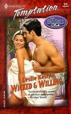 Wicked & Willing  (Bad Girls Club) Harlequin Temptation 2003 Leslie Kelly