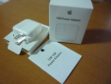 Genuine OEM 12W Power Adapter Wall Charger for Apple iphone 5 6 7 & air mini2 3