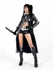 NEW Vocaloid 2 Black Rock Shooter Miku Cosplay Costume BGVIF #547