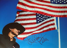 Richard Petty firmado 12x8 Nascar legendario controlador reciente Retrato