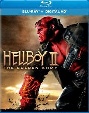 HELLBOY II 2 THE GOLDEN ARMY New Sealed Blu-ray