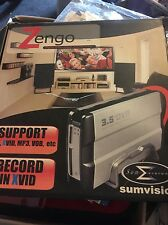 """Sumvision Zengo PVR - 3.5"""" Enclosure to 1x S-Video Out 1x USB 2.0 - needs HD"""