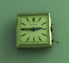 RARE VINTAGE ETERNA PURSE WATCH MOVEMENT – UNUSUAL SEMI AUTOMATIC MECHANISM