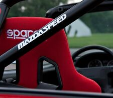 Mazdaspeed Sticker Decal Mazda 3 6 Protege Miata