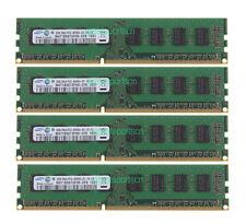 Samsung 8GB 4X 2GB DDR3 PC3-8500U 2RX8 1066MHz NON-ECC DIMM Memory Desktop RAM