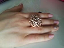 Mimco New Rose Gold Magic Mirage Cocktail Ring Size Small $149.00 + dust bag