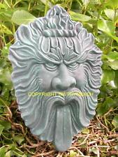 NEW RUBBER LATEX MOULD MOULDS MOLD PAGAN WICCAN GREEN MAN GREENMAN WALL PLAQUE 9